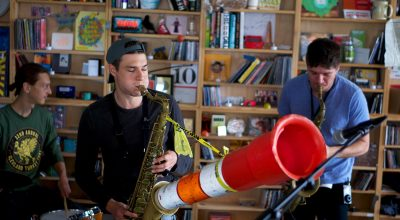 Moon Hooch Tiny Desk BIRD Rotteredam