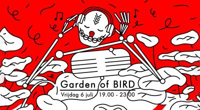Yardbird silent disco BIRD Rotterdam